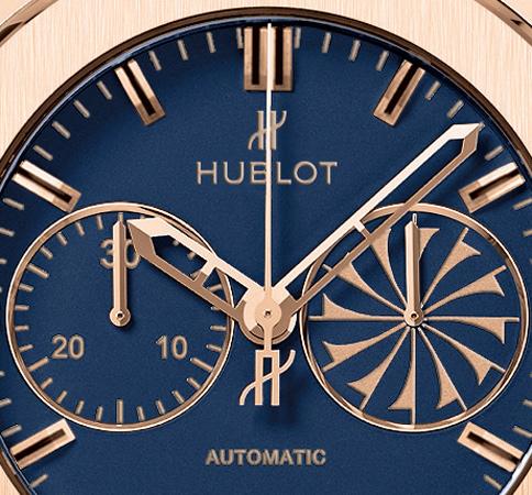 Hublot-Mykonos-Classic-Fusion-Chronograph-dial-detail