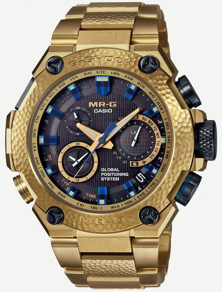 Casio-G-Shock-MR-G-MRGG1000HG9A-Gold-Hammer-Tone-1