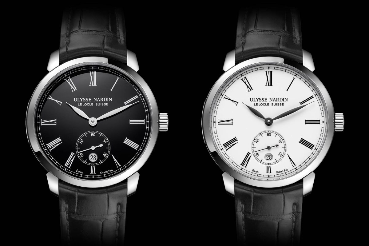 "Ulysse Nardin Classico Manufacture ""Grand Feu"" Series Replica Watches"