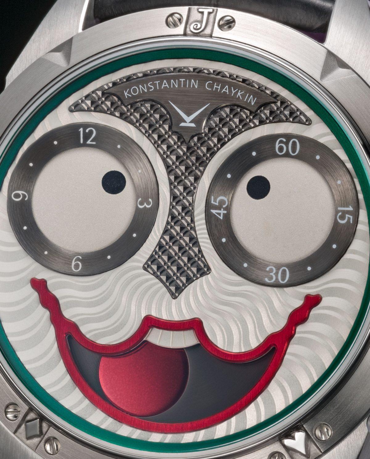 Russian Wath-Maker Konstantin Chaykin Joker Series Limited Edition Purple Leather Strap Replica Watches