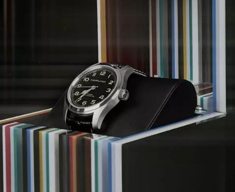 "Hamilton Khaki Field Murph Replica Watch CA With Black Dial Brings You To ""Interstellar"""