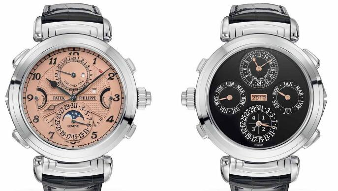 The precious Patek Philippe have been equipped with multiple complicated functions.