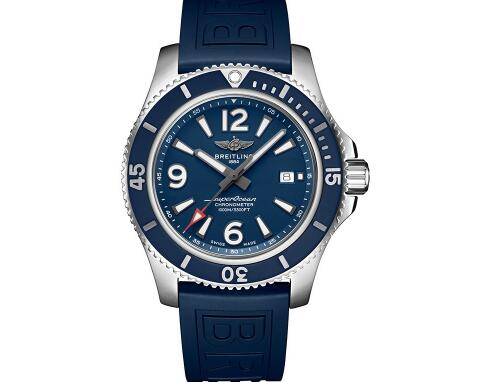 The new Breitling Superocean is much more concise than the old version.