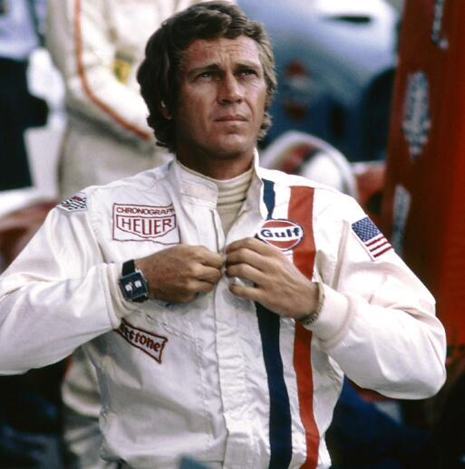 It is Steve McQueen that makes Monaco become popular all over the world.