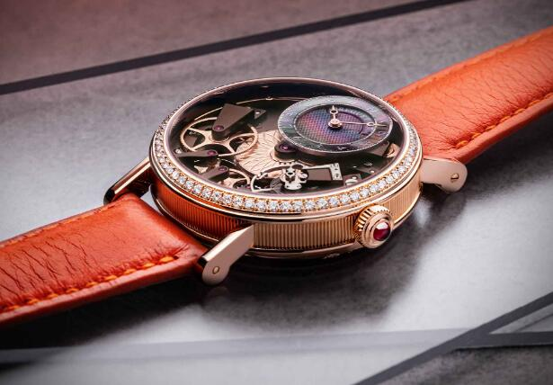 Perfect CA Replica Breguet Tradition Ref.7038 Present Beauty Of Mechanism