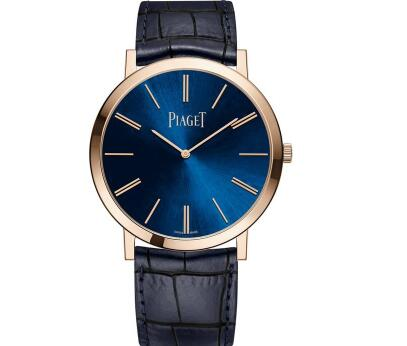 The ultra thin Piaget watches look very luxurious and tasteful.