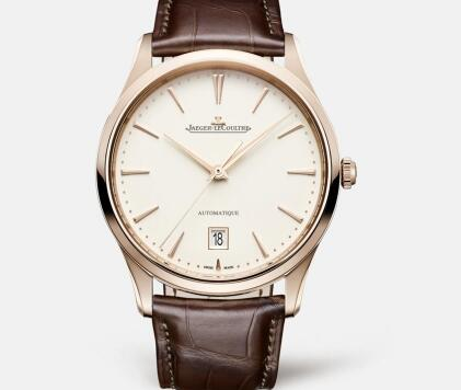 The brown leather strap adds the gentle taste to the model.