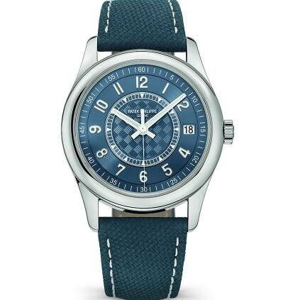 The Patek Philippe sports a distinctive look of sporty style.