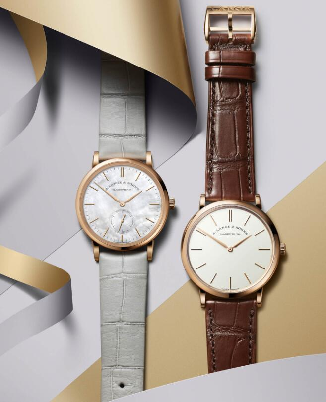 Male And Female Swiss A. Lange & Söhne Saxonia Fake Watches For Canada As Christmas Presents