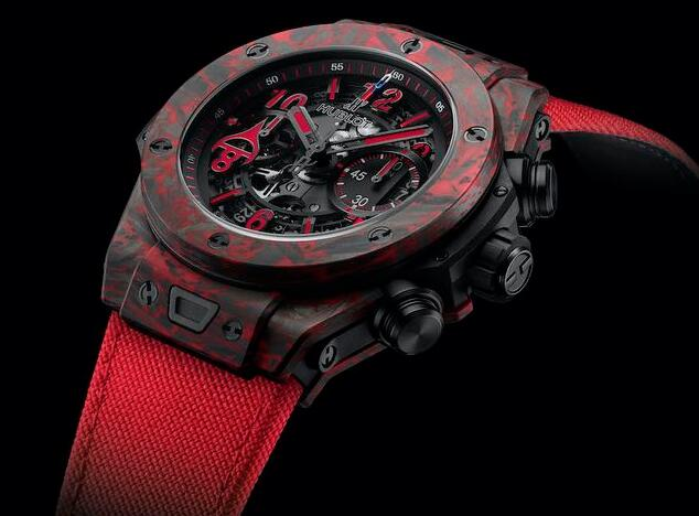 Online replica watches are evident with red decoration.