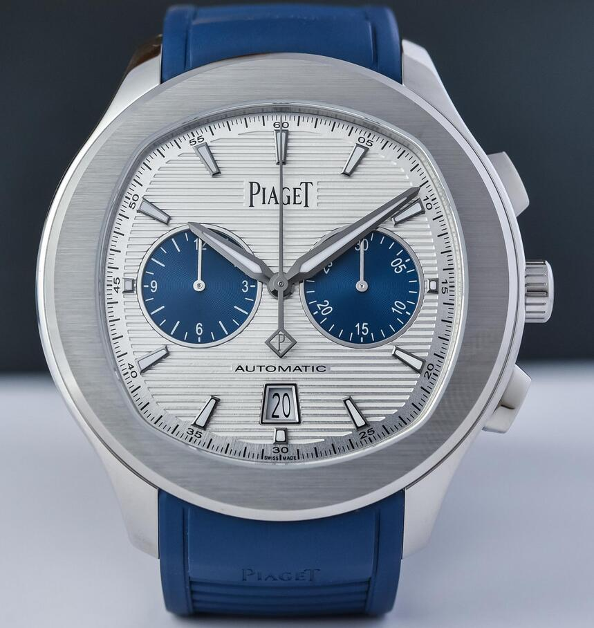 CA Male Waterproof Piaget Polo Chronograph G0A46013 Replica Watches Online